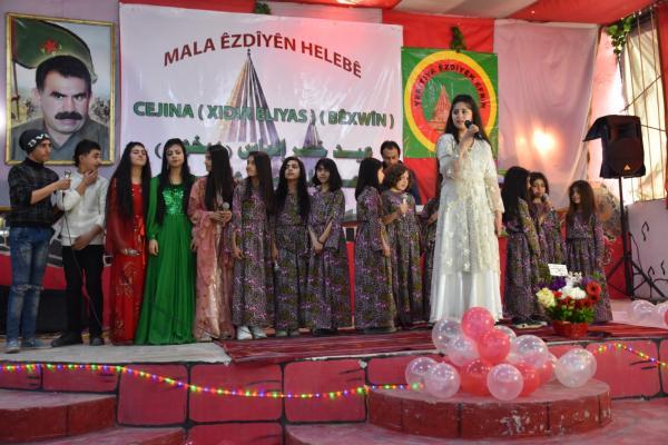 أهالي حلب يحتفلون بعيد خدر الياس
