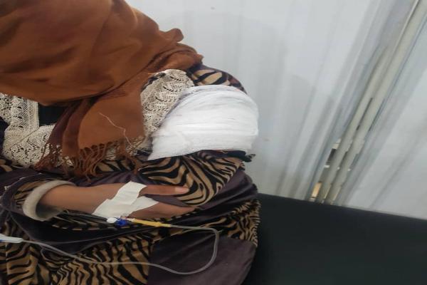 إصابة مدنيين جراء القصف الذي استهدف قرية فاطسة في ريف عين عيسى