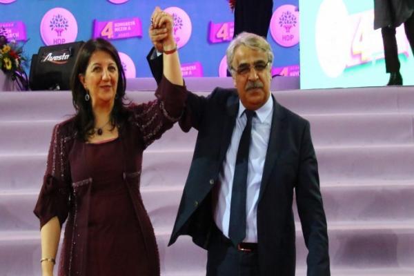 بروين بولدان ومدحت سانجار رئيسان مشتركان لـ HDP