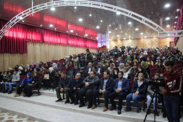 اختتام المهرجان الثاني لفن وأدب المرأة في منبج