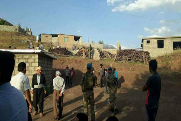 استشهاد مدني وإصابة طفل في غارات للطيران التركي على باشور كردستان