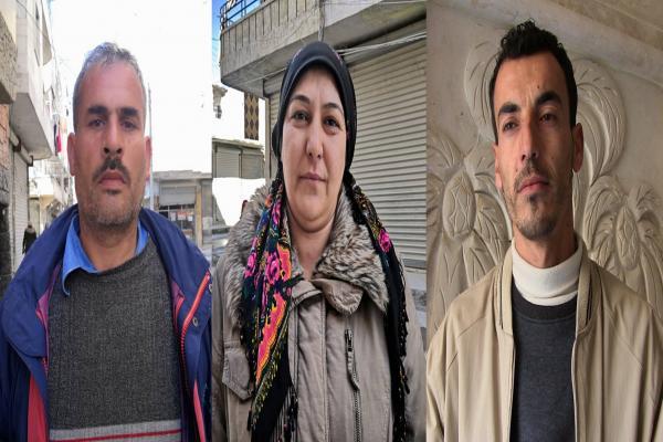 أهالي حلب يستنكرون استمرار المجازر التركية بحق أهالي عفرين