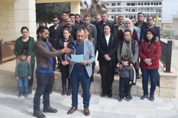 كوباني.. حقوقيون يدعون المنظمات للتحرك وإلزام تركيا بتطبيق القوانين الدولية
