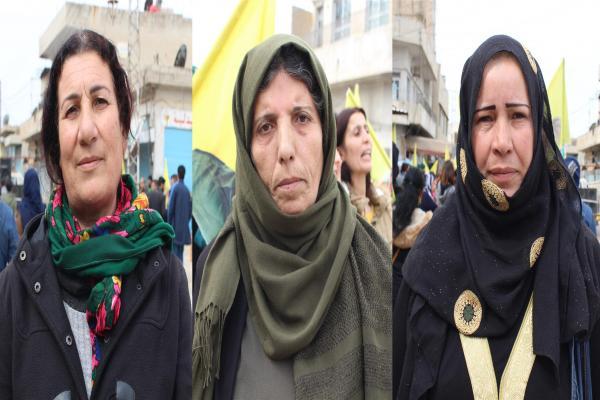 نساء عامودا: فكر أوجلان يُهدّدُ دكتاتوريّتهم لذا يستهدفونه