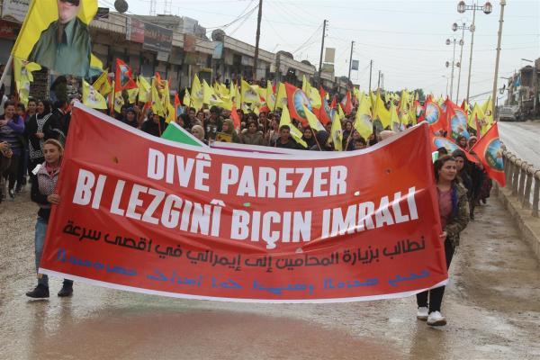من تظاهرات شمال شرق سوريا.. كلنا مقاومة