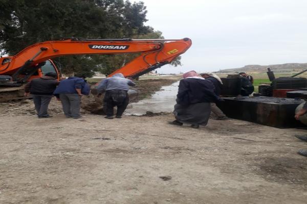 السيول تودي بحياة ستة أشخاص في ريف الرقة الجنوبي