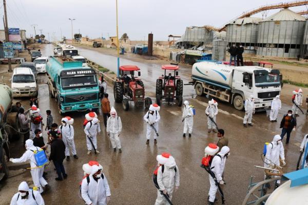 خلية الأزمة بدير الزور تواصل حملاتها الوقائية للحد من انتشار كورونا