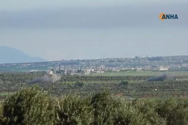 قرى شرا و شيراوا تتعرض لقصف الاحتلال
