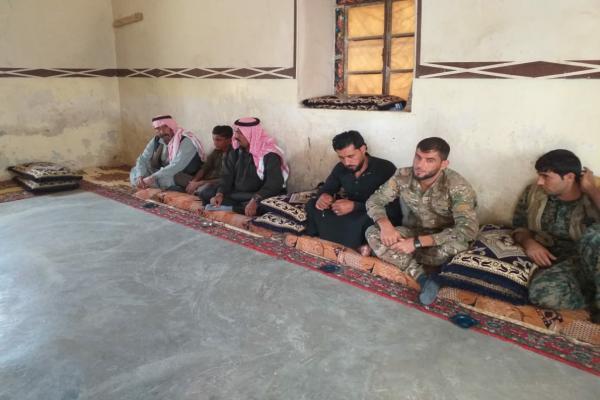مجلس منطقة الصور يهنئ أسر الشهداء بعيد الفطر