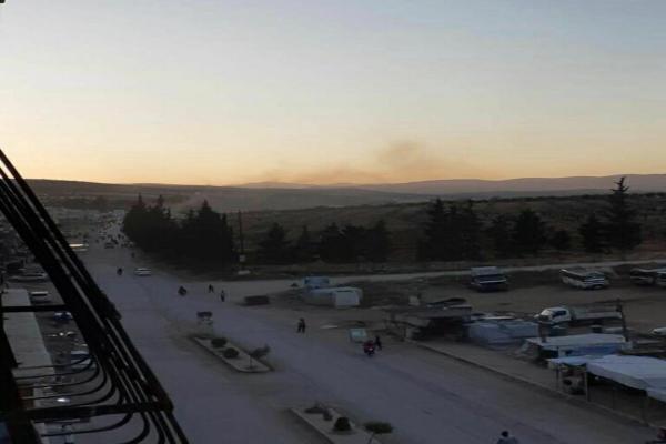 تفجيران يستهدفان حاجزين لمرتزقة الاحتلال في عفرين