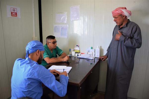 الهلال الأحمر الكردي يطالب المنظمات الدولية بدعم مخيم واشو كاني