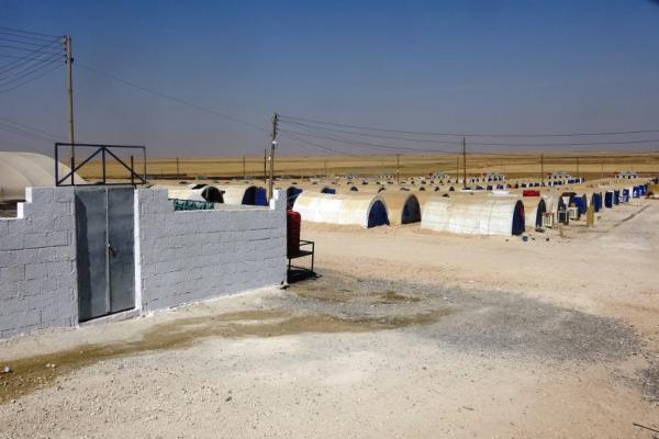 بعد توقفه لأكثر من شهرين... مخيم كري سبي يعاود استقبال المُهجّرين