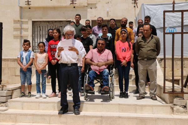 مركز جميل هورو في حلب يستنكر الجريمة بحقّ الشّاب الكرديّ
