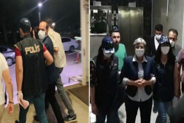 بعد سحب العضوية البرلمانية منهما السلطات التركية تعتقل ليلى كوفن وموسى فارس