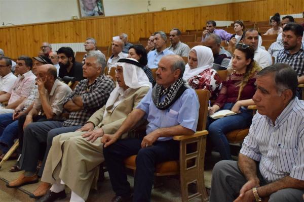ندوة حواريّة في كركي لكي حول أهمّيّة الحوار في سوريّا