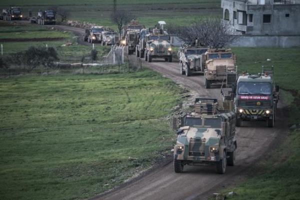 الاحتلال التركي يدفع بتعزيزات عسكرية إلى خفض