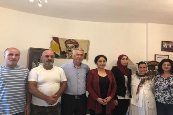 رابطة نوروز تجول على الجمعيات والأحزاب الكردية في لبنان