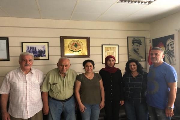 الجمعية الكردية اللبنانية الخيرية تدعو لتعزيز الوحدة الكردية