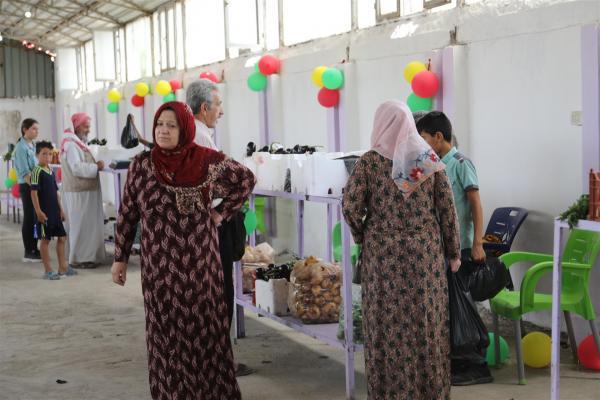 سوق الخضرة في عامودا نقلة نوعية في اقتصاد وتجارة المرأة