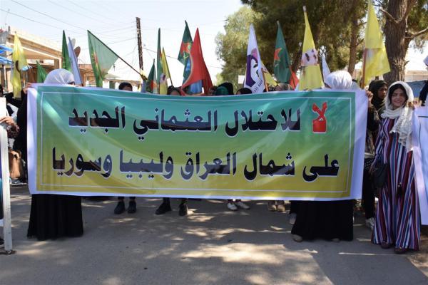 أهالي تل كوجر والشدادي يدعون إلى الوقوف صفًا واحدًا ضد مخططات الاحتلال التركي