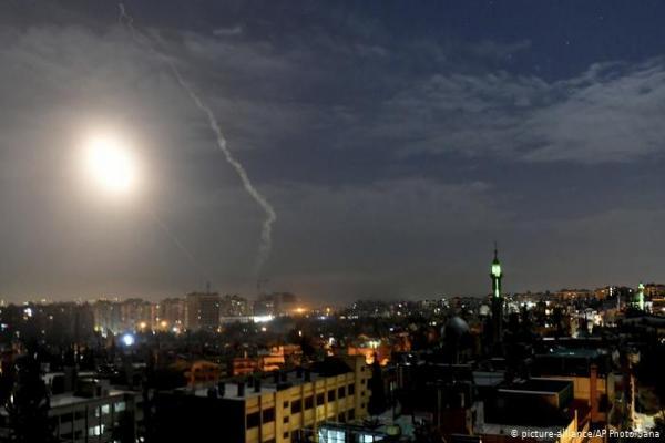 الإعلام الحكومي السوري: المضادات الأرضية تتصدى لهجمات إسرائيلية