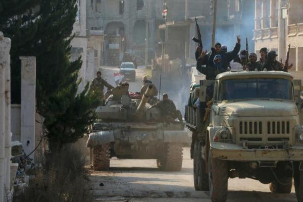 قصف صاروخي متبادل بين القوات الحكومية ومرتزقة تركيا