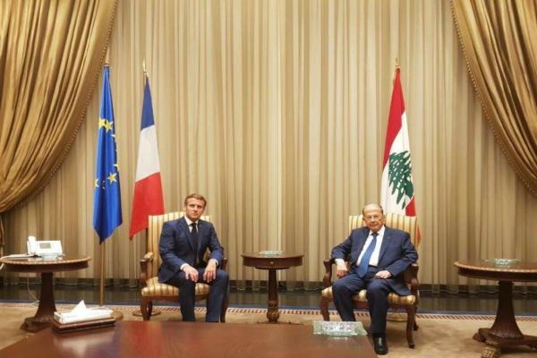 ماكرون من بيروت: نسعى إلى تأمين مساعدات دولية للشعب اللبناني