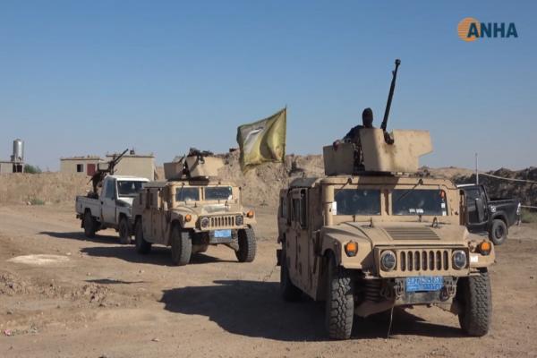 إلقاء القبض على ٧ مسلحين خلال عمليات التمشيط بريف دير الزور