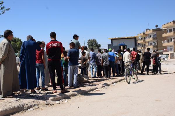 زيادة عدد البرّاكيات ضمن مدينة قامشلو تخفيفاً لأزمة الخبز