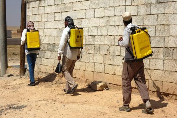 بلدية عين عيسى تطلق حملة لمكافحة الحشرات الضارة
