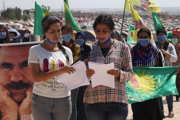 مؤتمر ستار يطالب CTP بعدم الازدواجية تجاه القائد عبد الله أوجلان ويتعهد برفع وتيرة النضال