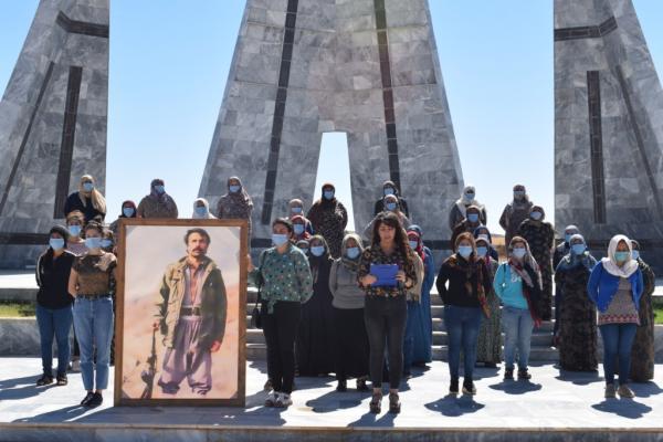 أمهات الشهداء في كوباني: سنجعل كل يوم من أيامنا انبعاثًا وسنرفع من وتيرة نضالنا