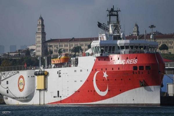 رغم التّحذيرات الأوروبّية.... سفينة أوروتش رئيس تعود إلى شرقي المتوسّط
