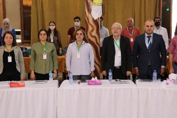 كلمات في المؤتمر تركز على ضرورة لعب الحقوقيين دورهم في الدفاع عن الشعب بوجه المحتلين