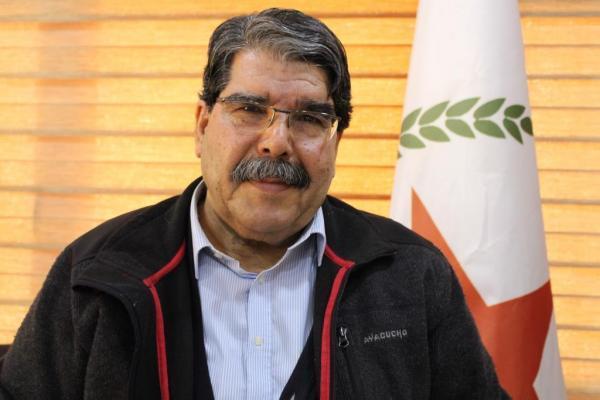 صالح مسلم: الدولة التركية تسعى إلى القضاء على الشعب الكردي وعلى الديمقراطية