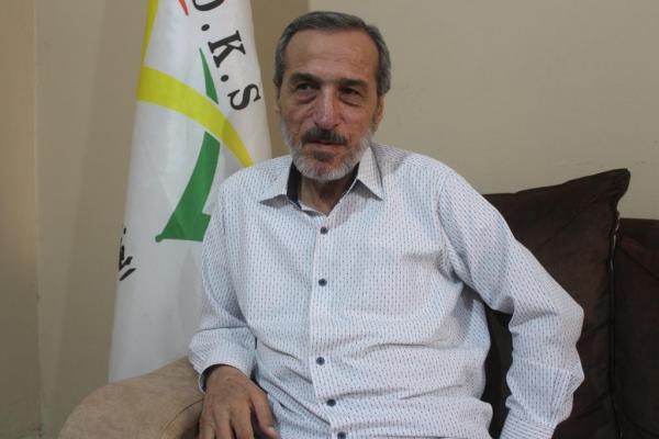 جمال شيخ باقي يخشى أن يستكمل الديمقراطي الدور التركي بمحاصرة روج آفا