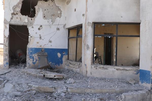 بالفيديو... حجم الأضرار التي خلفها القصف التركي على عين عيسى وريفها