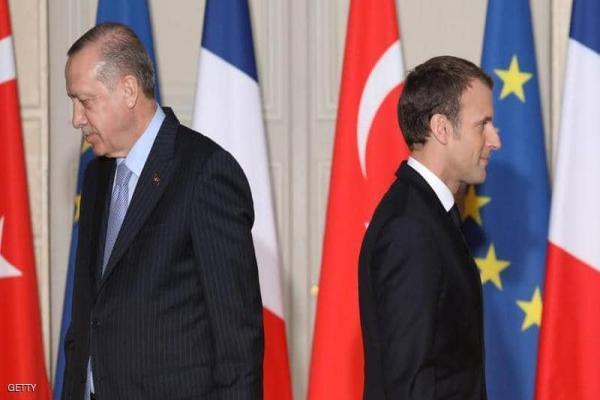 فرنسا تستدعي سفيرها لدى أنقرة وتصف تصريحات أردوغان بأنها غير مقبولة