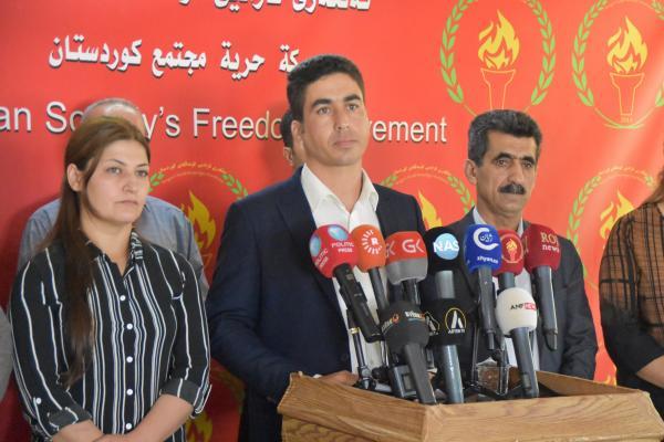 رسائل هامّة من حركة حرّية مجتمع كردستان للأطراف السّياسيّة الكرديّة