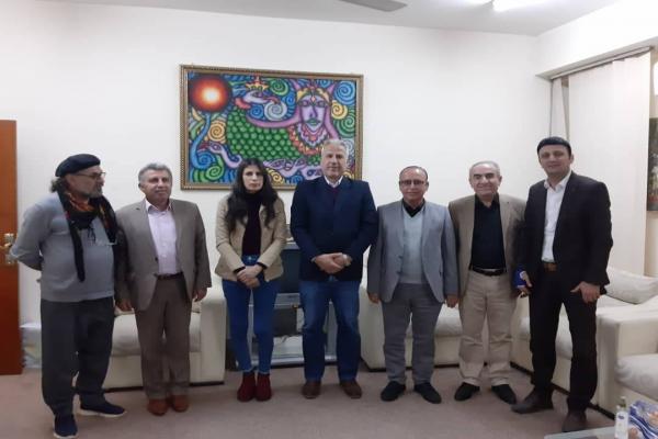 وفد مثقفي روج آفا يصل إلى جنوب كردستان ويلتقي ممثلي عدد من الهيئات الثقافية