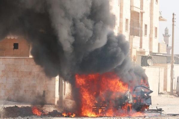 مقتل وإصابة 9 من مرتزقة تركيا في انفجار بمدينة سري كانيه المحتلة