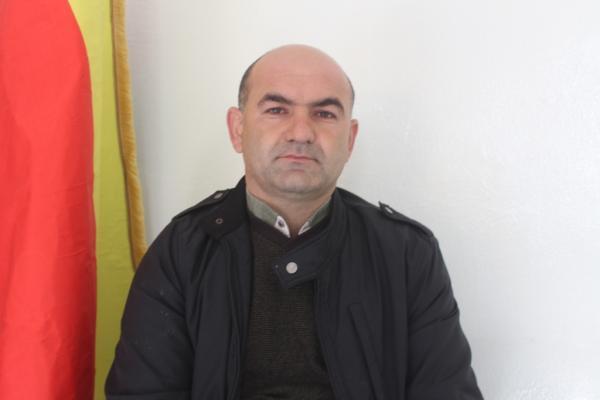 أوصمان خلف: مواقف الديمقراطي الكردستاني يشكل خطراً على المنطقة