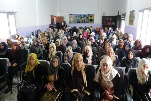 إدارة المرأة في الرقة تعقد اجتماعها السنوي الثالث