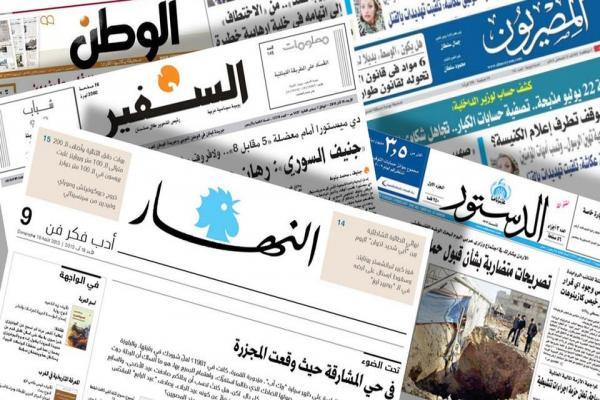 صحف عربية: كتل سورية معارضة تحشد ضد هيمنة تركيا ومجموعات مسلحة تقمع الاحتجاجات التونسية