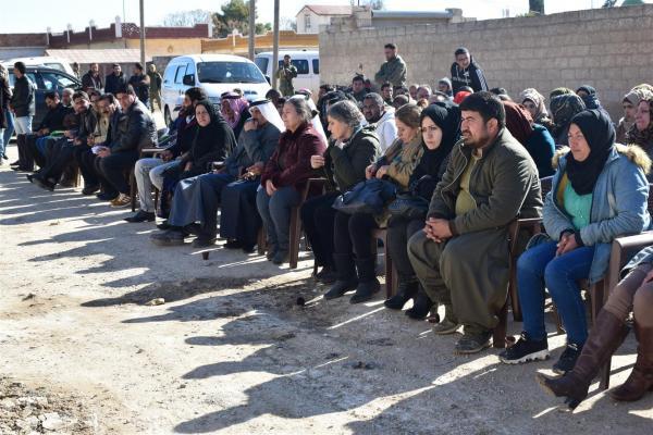 حزب سوريا المستقبل يفتتح مكتباً له في ناحية تل كوجر