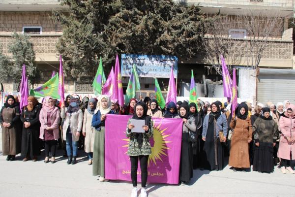 مجلس المرأة في منبج يعلن انطلاق فعاليات الـ 8 من آذار