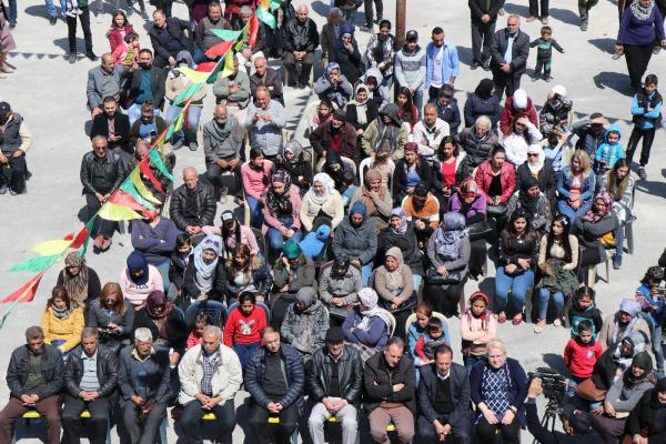الإيزيديون في حلب يحتفلون بالأربعاء الأحمر ويحيون مقاومة شنكال