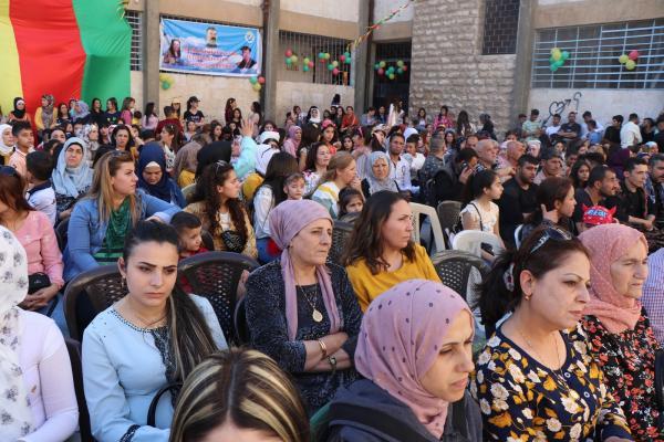 احتفالية في حلب بمناسبة عيد اللغة الكردية