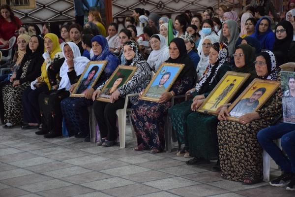مراسم استذكار 40 شهيداً في ناحية عامودا