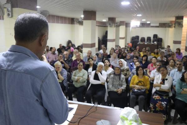 إيزيديو حلب يعقدون اجتماعهم الموسع تحضيراً لعقد الكونفرانس الرابع لاتحاد الإيزيديين